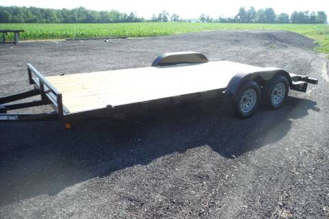 2021 Quality Steel CAR HAULER 83 X 18 for sale at Bryan Auto Depot in Bryan OH
