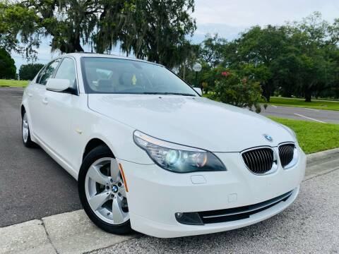 2008 BMW 5 Series for sale at FLORIDA MIDO MOTORS INC in Tampa FL