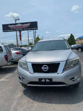 2014 Nissan Pathfinder for sale at Washington Auto Group in Waukegan IL