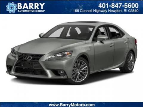 2016 Lexus IS 300 for sale at BARRYS Auto Group Inc in Newport RI