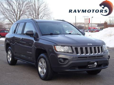 2015 Jeep Compass for sale at RAVMOTORS in Burnsville MN