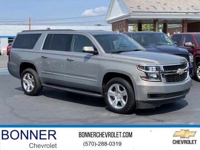 2017 Chevrolet Suburban for sale at Bonner Chevrolet in Kingston PA