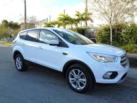 2017 Ford Escape for sale at SUPER DEAL MOTORS in Hollywood FL