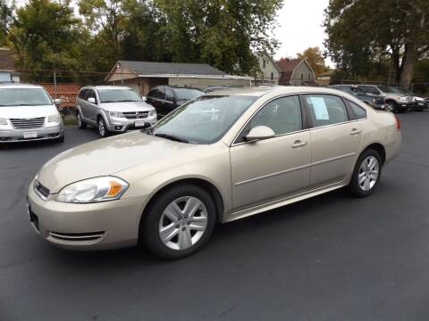 2010 Chevrolet Impala for sale at Goodman Auto Sales in Lima OH