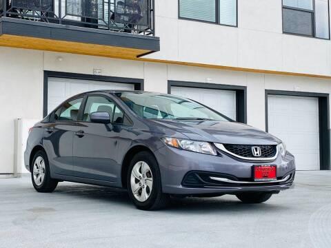2014 Honda Civic for sale at Avanesyan Motors in Orem UT