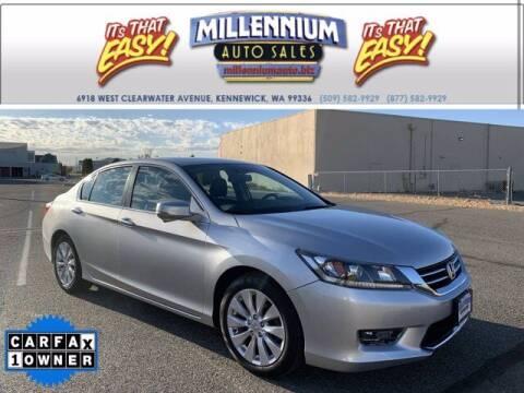 2014 Honda Accord for sale at Millennium Auto Sales in Kennewick WA