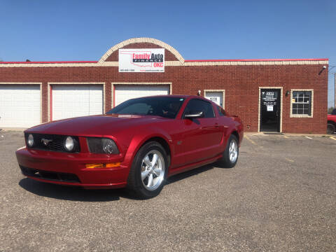 2008 Ford Mustang for sale at Family Auto Finance OKC LLC in Oklahoma City OK