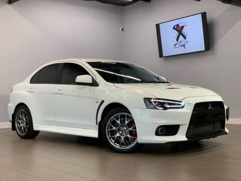 2012 Mitsubishi Lancer Evolution for sale at TX Auto Group in Houston TX