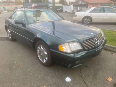 1995 Mercedes-Benz SL-Class for sale at MILLENNIUM MOTORS INC in Monroe WA