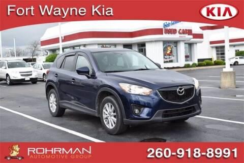 2013 Mazda CX-5 for sale at BOB ROHRMAN FORT WAYNE TOYOTA in Fort Wayne IN