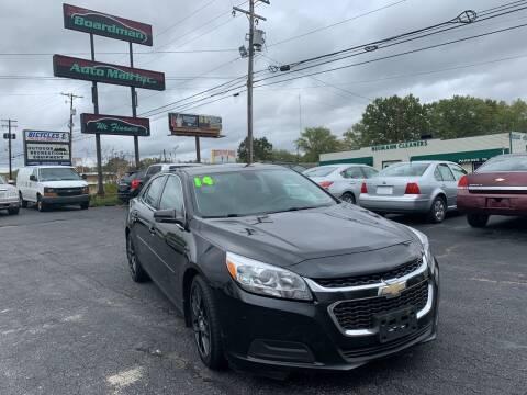2014 Chevrolet Malibu for sale at Boardman Auto Mall in Boardman OH