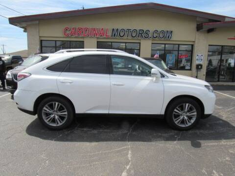 2015 Lexus RX 350 for sale at Cardinal Motors in Fairfield OH