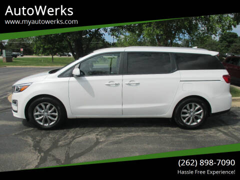 2020 Kia Sedona for sale at AutoWerks in Sturtevant WI