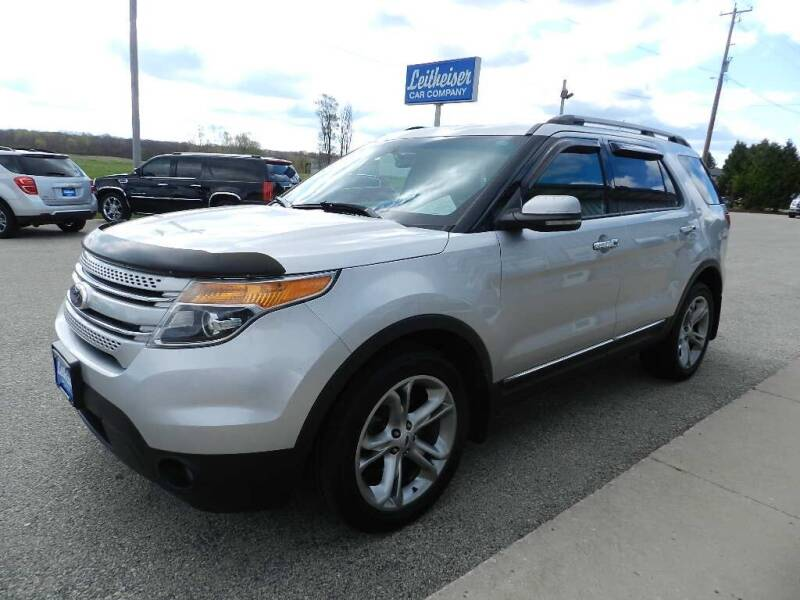 2013 Ford Explorer for sale at Leitheiser Car Company in West Bend WI