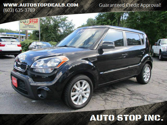 2012 Kia Soul for sale at AUTO STOP INC. in Pelham NH