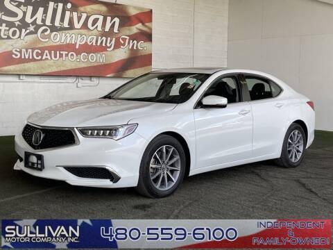 2019 Acura TLX for sale at SULLIVAN MOTOR COMPANY INC. in Mesa AZ