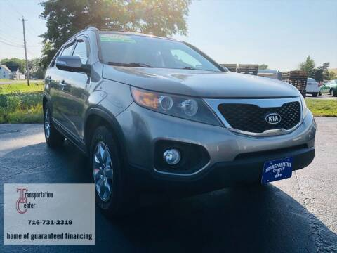 2012 Kia Sorento for sale at Transportation Center Of Western New York in Niagara Falls NY