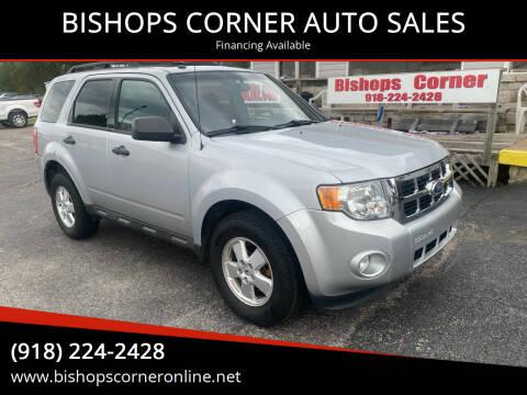 2011 Ford Escape for sale at BISHOPS CORNER AUTO SALES in Sapulpa OK