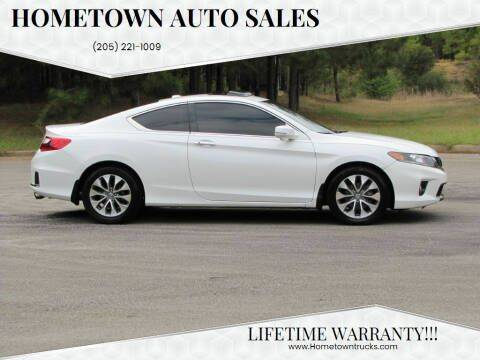 2014 Honda Accord for sale at Hometown Auto Sales - Cars in Jasper AL