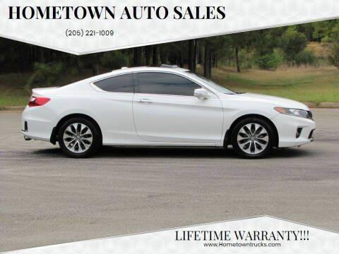2014 Honda Accord for sale at Hometown Auto Sales - Cars in Jasper AL