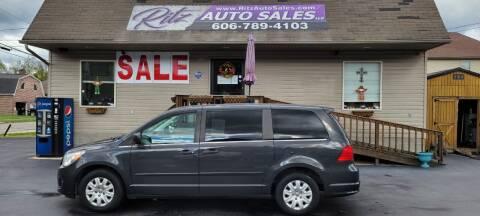 2011 Volkswagen Routan for sale at Ritz Auto Sales, LLC in Paintsville KY