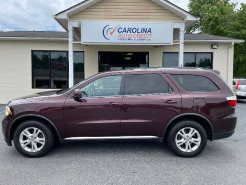 2012 Dodge Durango for sale at Carolina Auto Credit in Youngsville NC