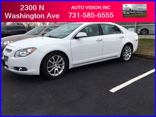 2012 Chevrolet Malibu for sale at Auto Vision Inc. in Brownsville TN