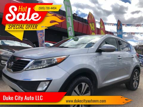 2011 Kia Sportage for sale at Duke City Auto LLC in Gallup NM