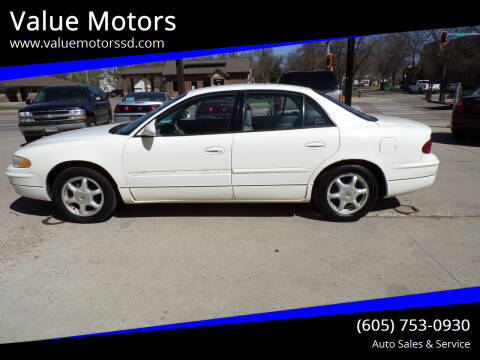 2002 Buick Regal for sale at Value Motors in Watertown SD