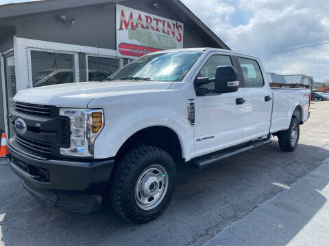 2018 Ford F-250 Super Duty for sale at Martins Auto Sales in Shelbyville KY