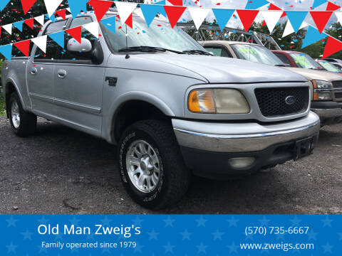 2001 Ford F-150 for sale at Old Man Zweig's in Plymouth PA