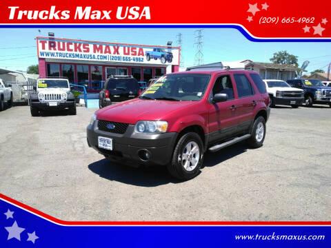 2006 Ford Escape for sale at Trucks Max USA in Manteca CA