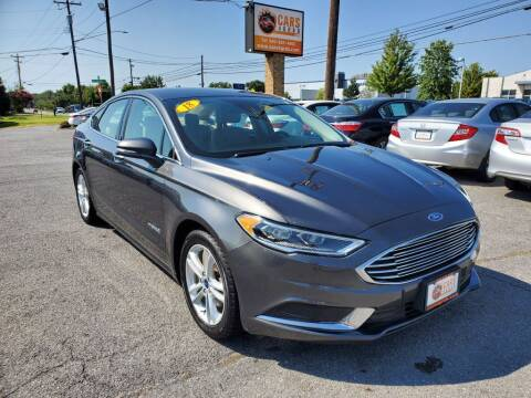 2018 Ford Fusion Hybrid for sale at Cars 4 Grab in Winchester VA