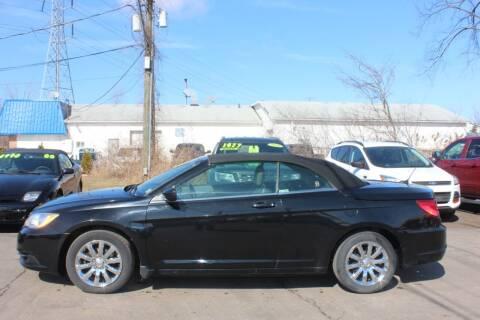 2012 Chrysler 200 Convertible for sale at D & B Auto Sales LLC in Washington Township MI