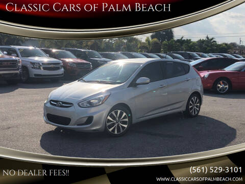 2015 Hyundai Accent for sale at Classic Cars of Palm Beach in Jupiter FL