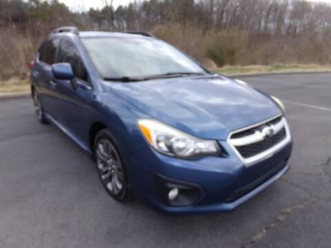 2013 Subaru Impreza for sale at J & D Auto Sales in Dalton GA