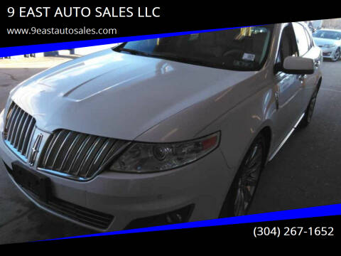 2010 Lincoln MKS for sale at 9 EAST AUTO SALES LLC in Martinsburg WV