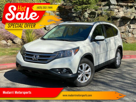 2012 Honda CR-V for sale at Mudarri Motorsports in Kirkland WA