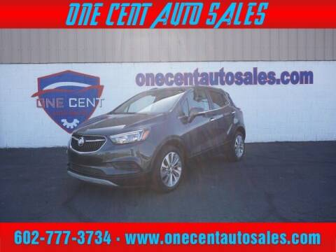 2017 Buick Encore for sale at One Cent Auto Sales in Glendale AZ