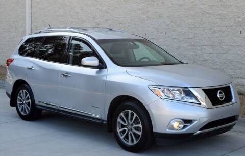 2014 Nissan Pathfinder Hybrid for sale at Raleigh Auto Inc. in Raleigh NC