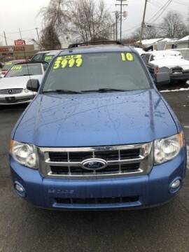 2010 Ford Escape for sale at Al's Linc Merc Inc. in Garden City MI