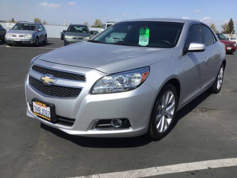 2013 Chevrolet Malibu for sale at My Three Sons Auto Sales in Sacramento CA