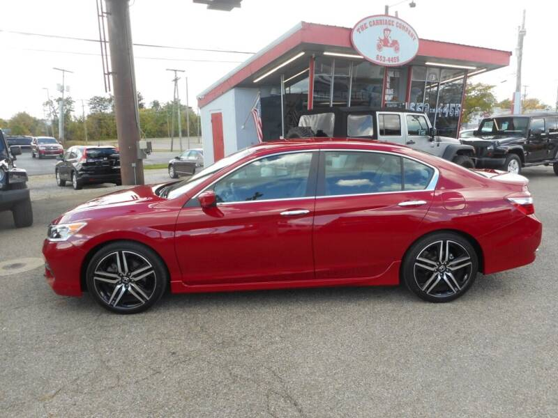 2017 Honda Accord for sale at The Carriage Company in Lancaster OH