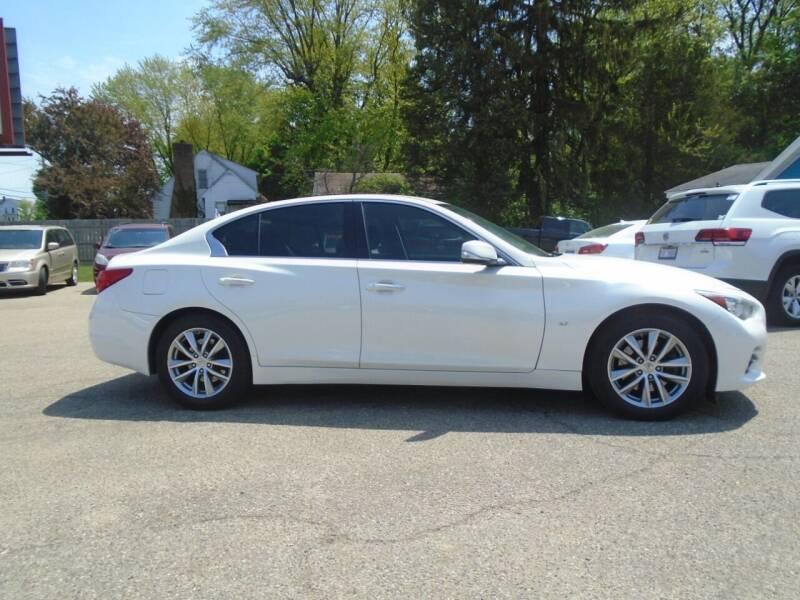 2014 Infiniti Q50 for sale at Michigan Auto Sales in Kalamazoo MI