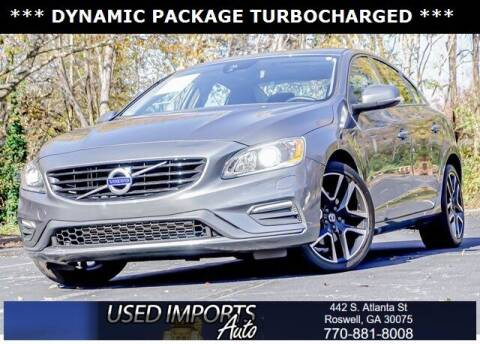 2017 Volvo S60 for sale at Used Imports Auto in Roswell GA