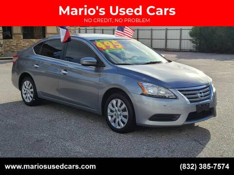 2014 Nissan Sentra for sale at Mario's Used Cars - Pasadena Location in Pasadena TX