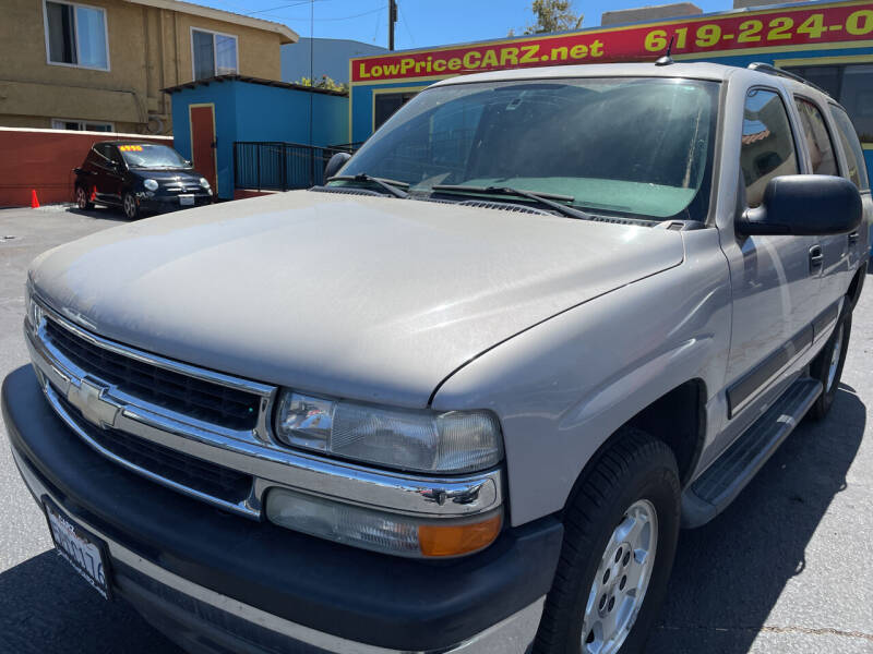 2005 Chevrolet Tahoe for sale at CARZ in San Diego CA