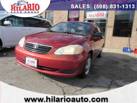 2005 Toyota Corolla for sale at Hilario's Auto Sales in Worcester MA