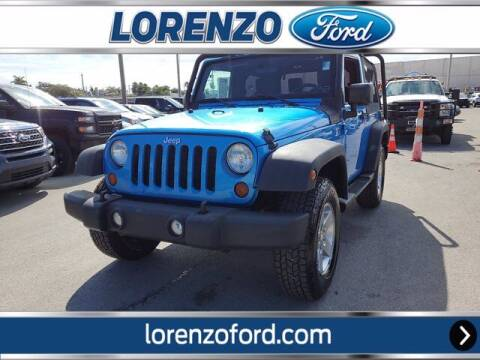2010 Jeep Wrangler for sale at Lorenzo Ford in Homestead FL