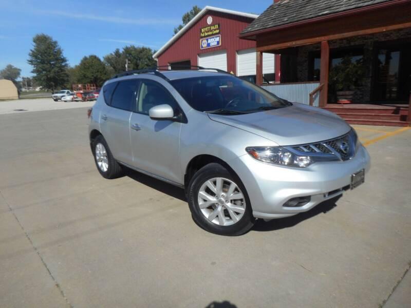 2013 Nissan Murano for sale at Boyett Sales & Service in Holton KS